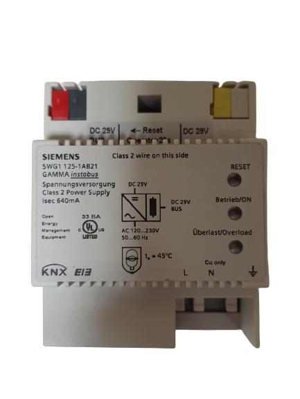Siemens 5WG1125-1AB21 Gamma EIB KNX Spannungsversorgung 640mA N 125/21