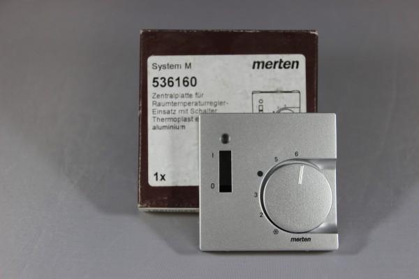 Zentralplatte für Raumtemperaturregler 536160