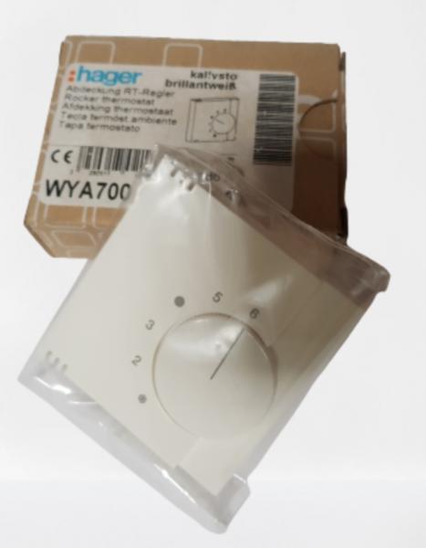 Hager RT-Regler Raumtemperatur Regler Abdeckung kallysto WYA700