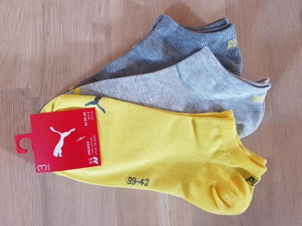 Puma Unisex Sneaker Sportsocken 5x 3er Pack