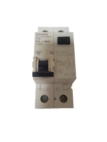 Siemens 5SU1356-6KK16 FI/LS Kombi RCBO B16 30mA